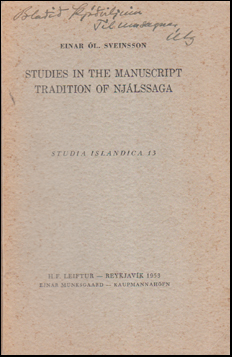 Studies in the manuscript tradition of Njálssaga # 53980