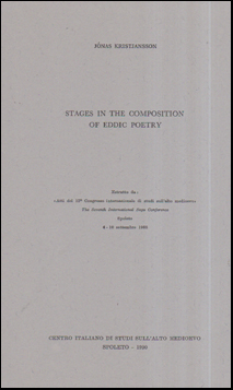 Stages in the Composition of Eddic Poetry # 56082