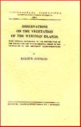 Observations on the vegetation of the Westmann Island # 5239