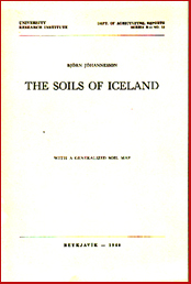 The soils of Iceland # 5564