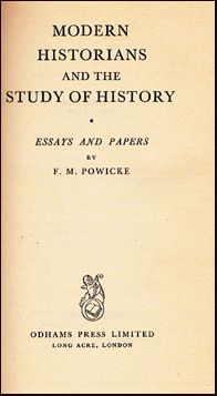 Modern historians and the study of history