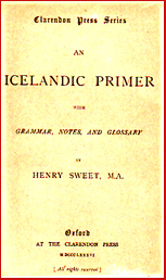 An Icelandic primer with Grammar, notes and gossary # 5982