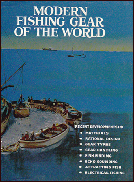 Modern fishing gear of the world # 19586