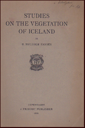 Studies on the vegetation of Iceland # 46222