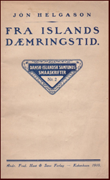 Fra Islands Dæmringstid # 14832