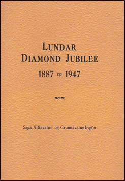 Lundar diamond jubilee 1887 to 1947 # 19031