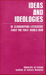 Ideas and ideologies in Scandinavian literature since the First World War # 10742
