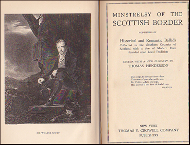 Minstrelsy of the Scottish Border Consisting of Historical and Romantic Ballads # 20679