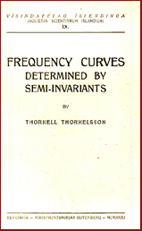 Frequency curves determined by semi-invariants
