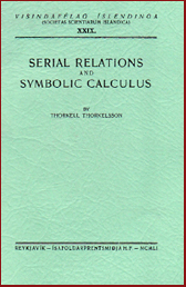 Serial relations and symbolic calculus