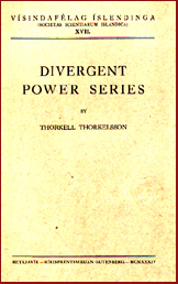 Divergent power series