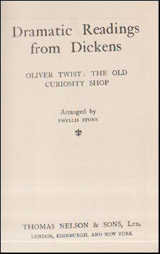 Dramatic Readings from Dickens # 56712